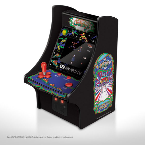 Micro Player Retro Arcade - Galaga